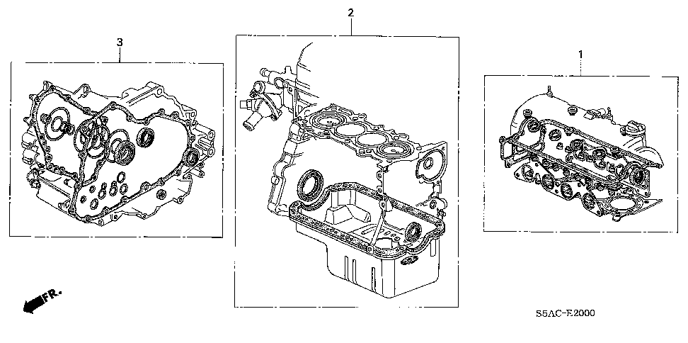 06112-PLX-A30 - GASKET KIT, AT TRANSMISSION