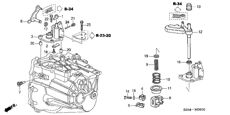 24479-PPP-000 - COVER, SHIFT LEVER