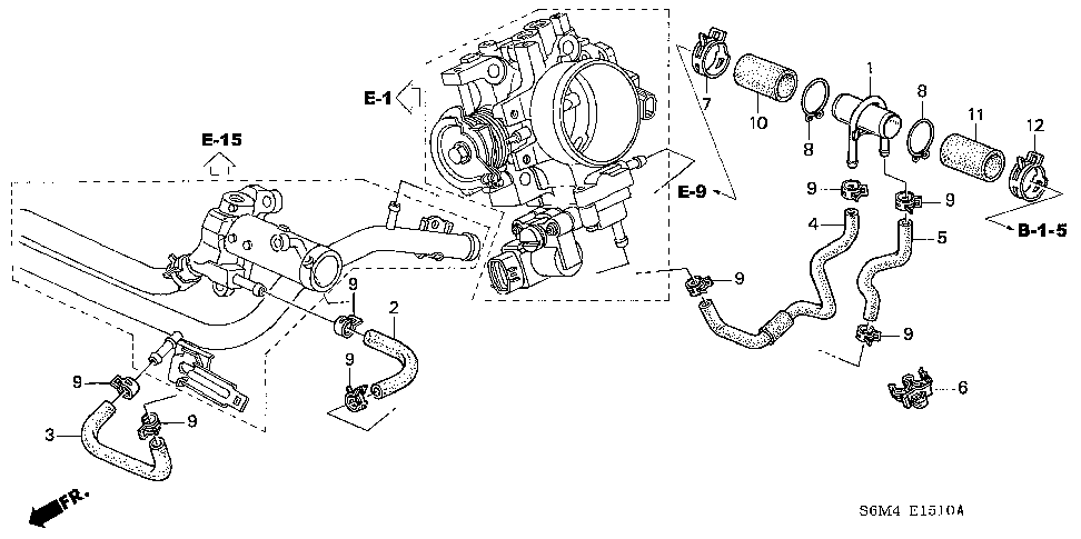 17137-PND-A00 - PIPE, BREATHER