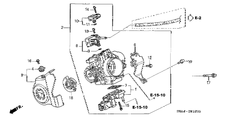 Wiring Diagram For 97 Honda Civic Ex likewise  together with Throttle Body Diagram in addition  on 2003 honda ex l throttle control