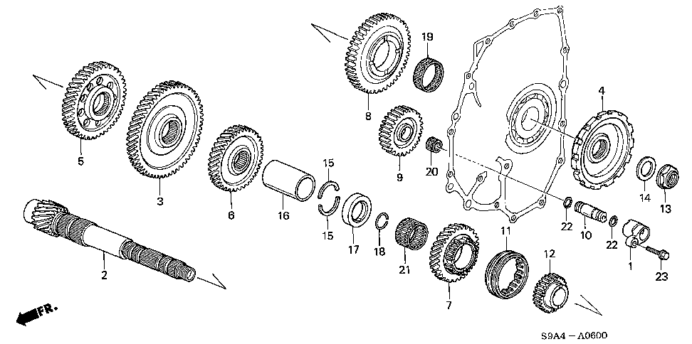 23221-PPV-A03 - COUNTERSHAFT