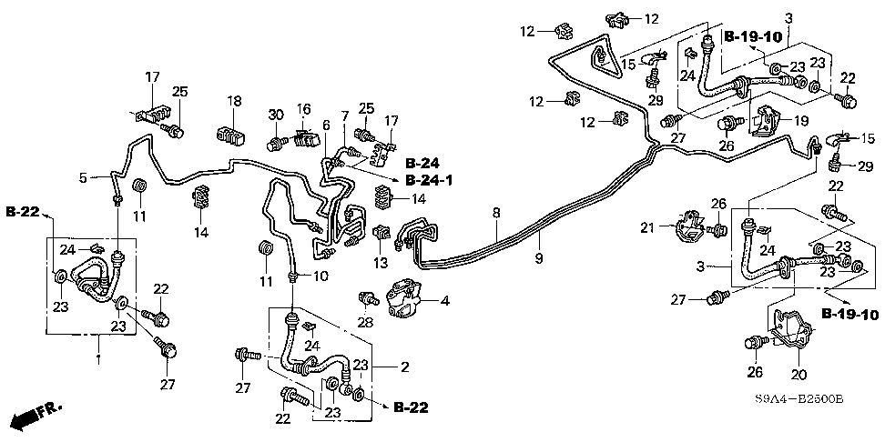 46210-S9A-003 - VALVE ASSY., PROPORTIONING