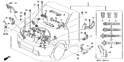 Dr650 Wiring Diagram also 2010 Gmc Acadia Wiring Diagram furthermore 2002 F150 Fuse Panel Layout For Door Lights in addition Wiring Diagram For 2006 Honda Ridgeline also Replace Engine Wire Harness Odyssey 07. on 2009 honda crv trailer wiring harness
