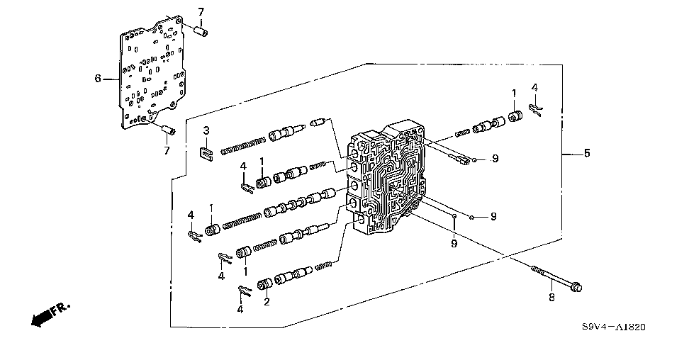 27712-RDK-000 - PLATE, SECONDARY SEPARATING