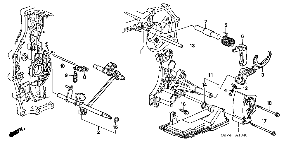 24561-RDK-000 - PAWL, PARKING BRAKE