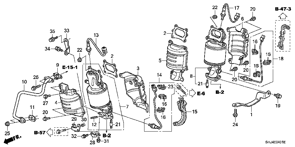 18121-R70-A00 - COVER B, FR. PRIMARY CONVERTER