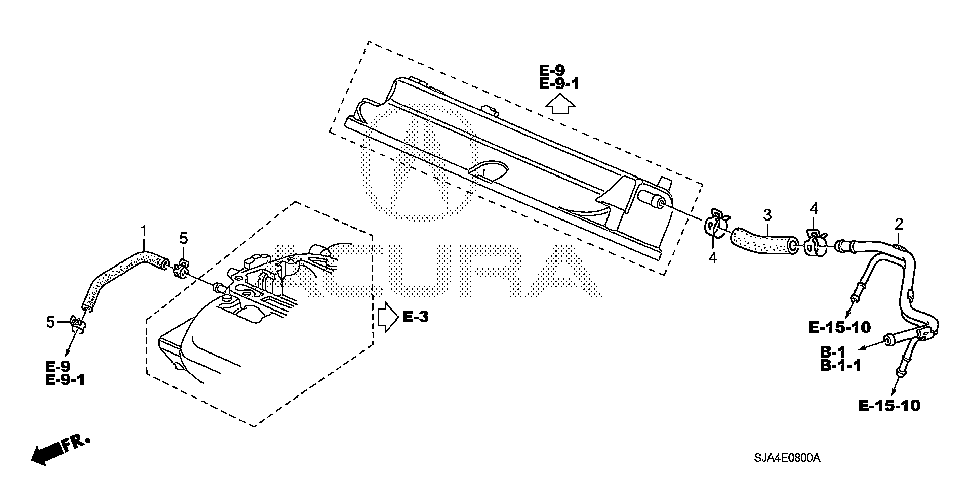 17137-RJA-A01 - PIPE, BREATHER