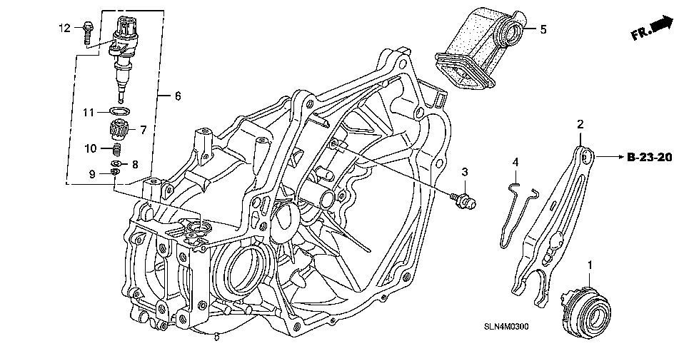 22841-PWL-000 - BOOT, RELEASE FORK