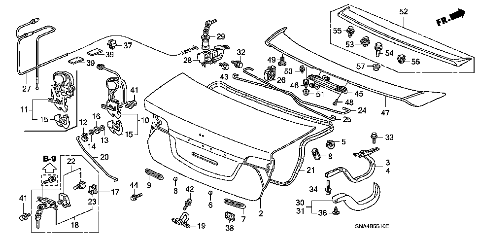 74854-SNA-A01 - WASHER
