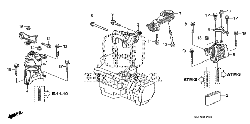 2008 Honda Engine Diagram