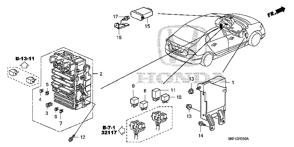 37815-RNE-A01 - DRIVER UNIT, INJECTOR