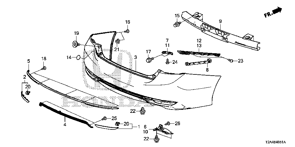 71554-T2F-A50 - COVER, L. FINISHER