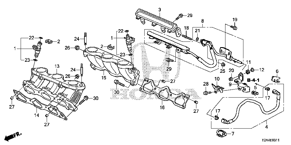 16923-5G0-A00 - COLLAR, MOUNTING