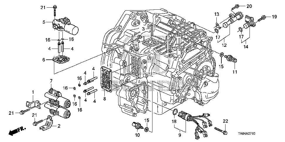 28811-RXH-010 - WASHER, PICK-UP