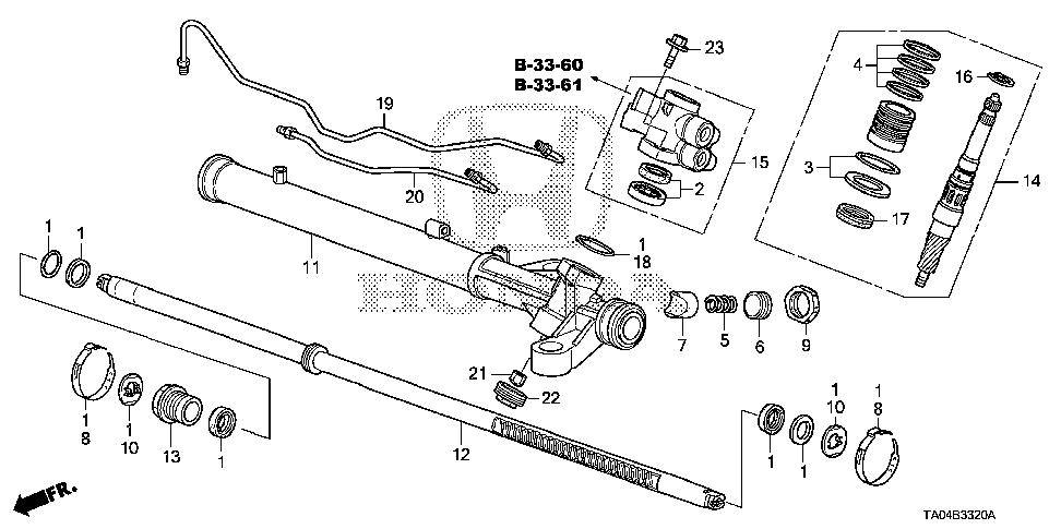 53670-TA0-A01 - PIPE A, CYLINDER