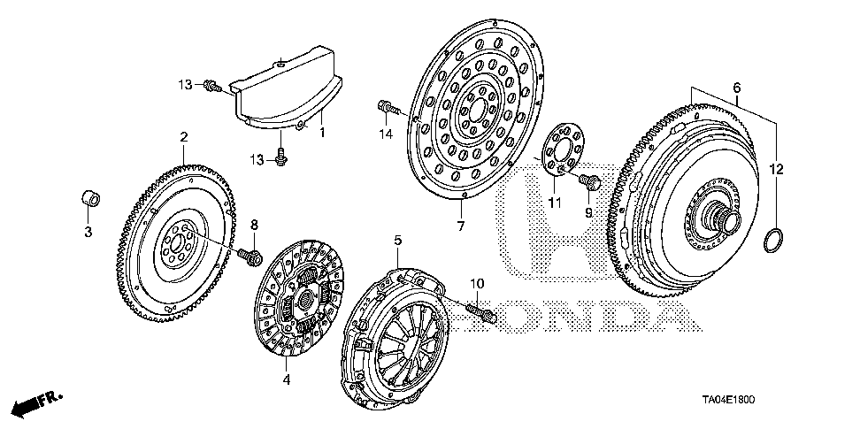 22200-R40-003 - DISK, FRICTION