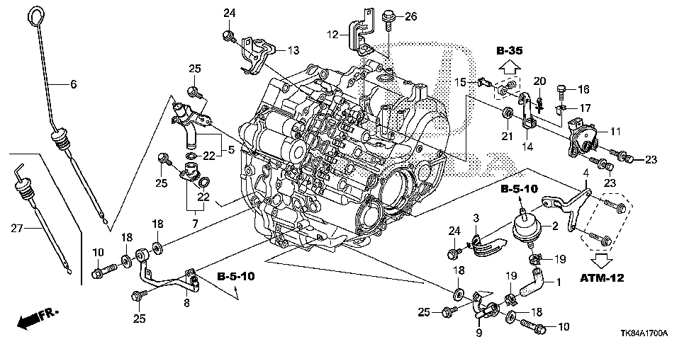 25910-RT4-000 - PIPE A (ATF)