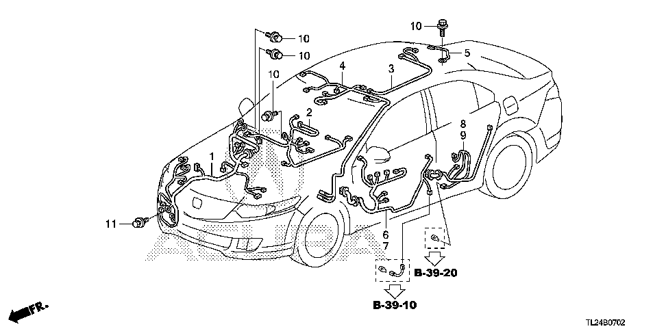 32157-TP1-A02 - WIRE, SUNROOF
