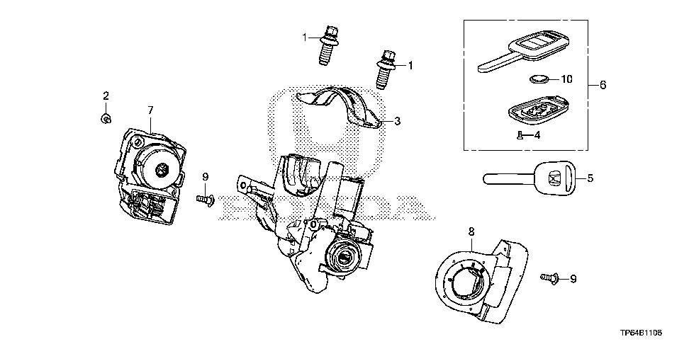 35130-TR0-A01 - SWITCH, STEERING