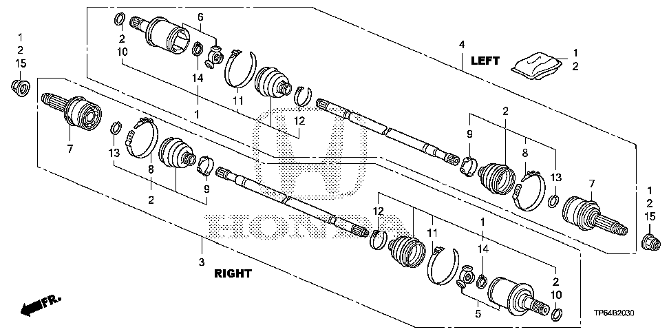 42330-TP7-A01 - JOINT, OUTBOARD