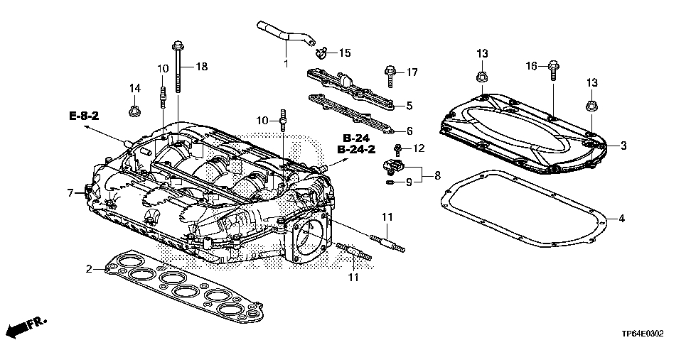 17116-5G0-A00 - COVER, PCV