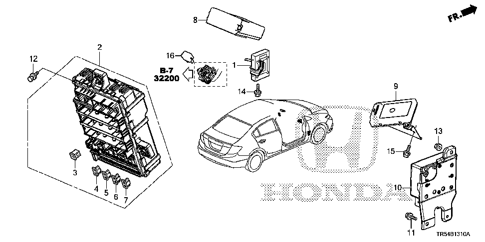 37815-R1Z-A01 - DRIVER UNIT, INJECTOR