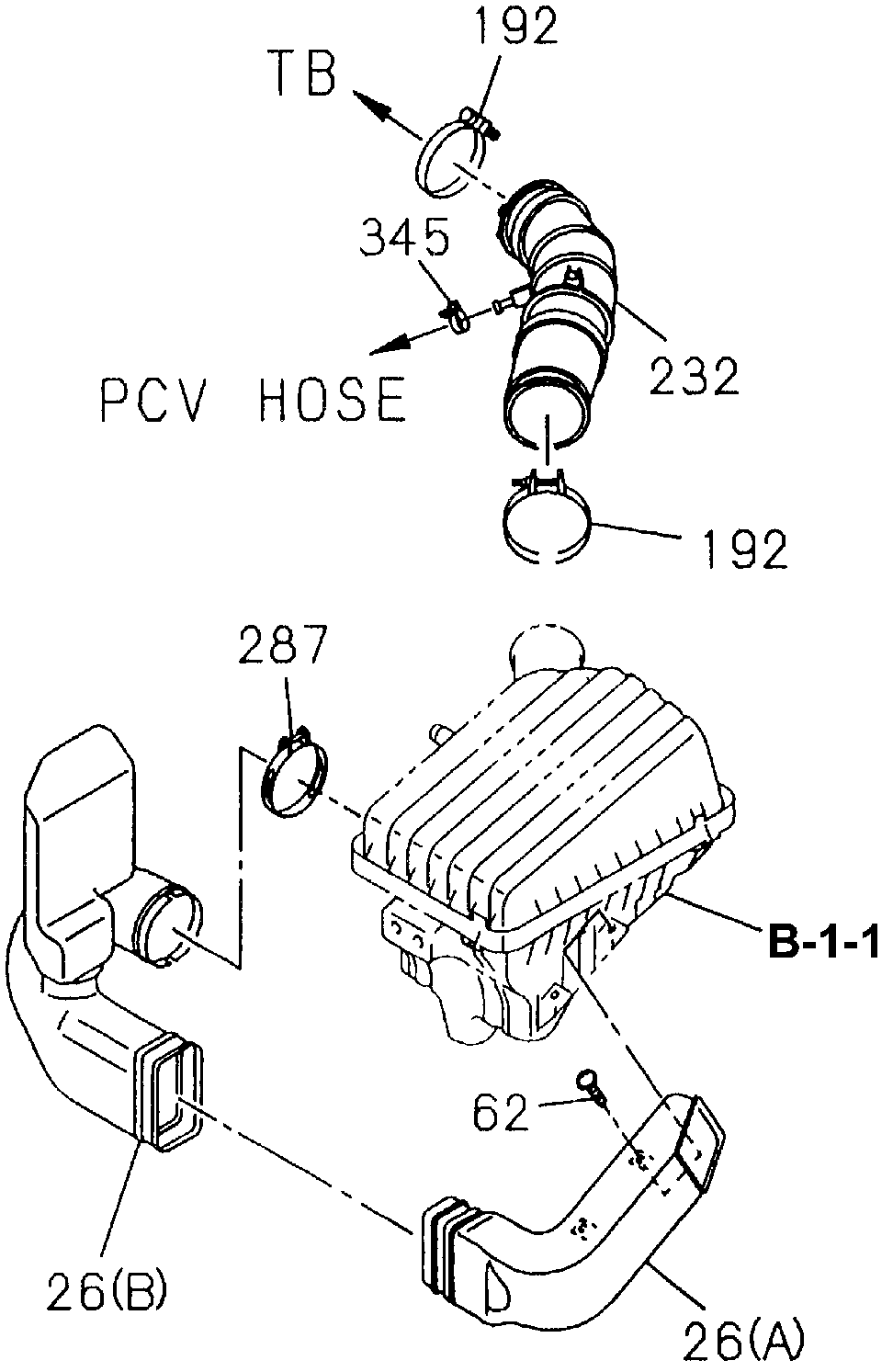 8-97101-973-1 - HOSE, CONNECTING (MES CO.)