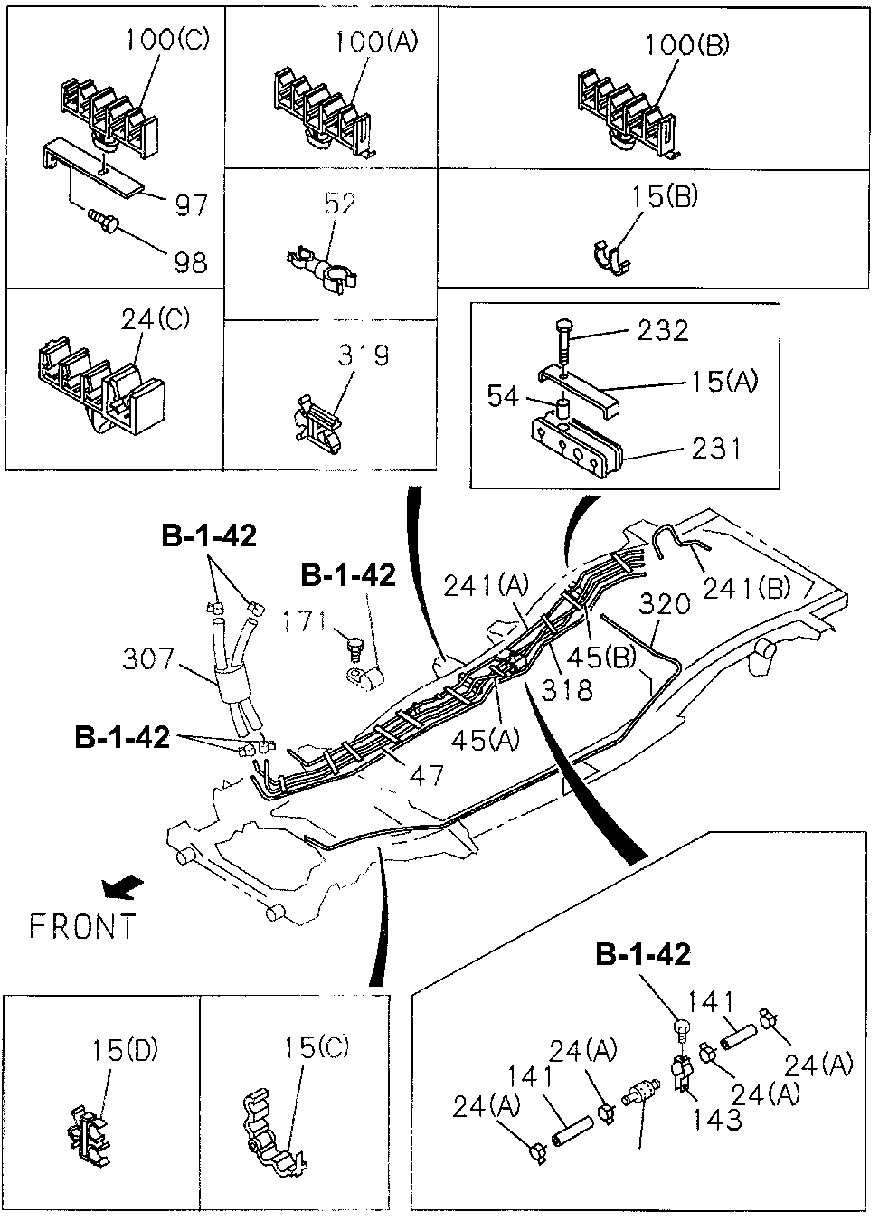 8-97131-339-0 - PIPE, DELIVERY FUEL