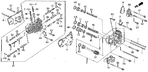 1988 INTEGRA RS 5 DOOR 4AT AT SECONDARY BODY (2) diagram