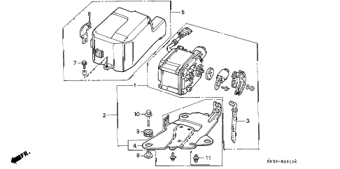 1993 INTEGRA GS 3 DOOR 4AT AUTO CRUISE diagram