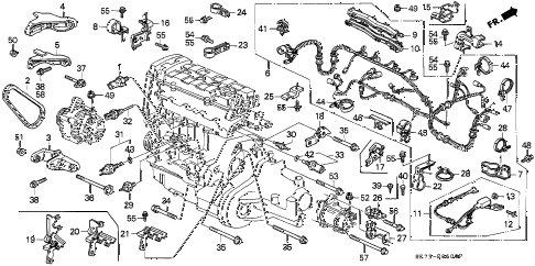 Wiring Diagram 92 Acura Vigor also Acura Integra Turn Signal Wiring Diagram additionally 1990 Acura Integra Fuel Wiring Diagram Schematic in addition 93 Honda Accord Starter Relay Wiring Diagram also Grounding Wire Location Help Please 10069. on 1990 acura integra stereo wiring diagram