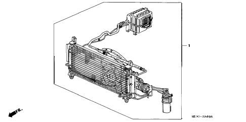 1992 INTEGRA GS 4 DOOR 4AT KIT diagram