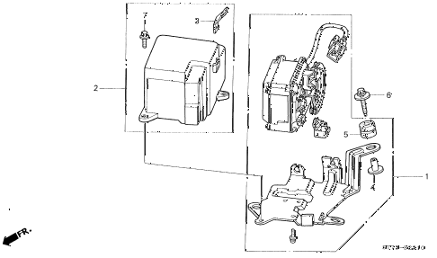 1998 INTEGRA LS 3 DOOR 4AT AUTO CRUISE diagram