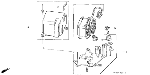 2001 INTEGRA LS 4 DOOR 4AT AUTO CRUISE diagram