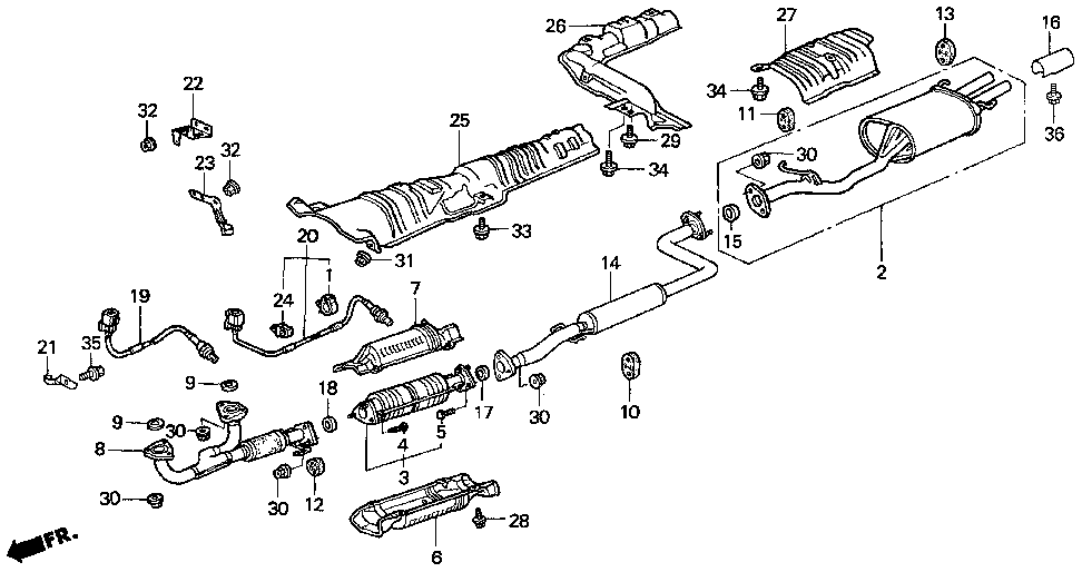 1997 Honda Accord Exhaust System Diagram moreover 1999 Acura Cl Exhaust Diagram additionally 2001 Acura Cl Engine Diagram additionally Schematics For 1999 Honda Odyssey Transmission moreover D16y7 Wire Harness. on 99 civic ex iacv issue 2713053