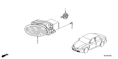 2008 TSX 4 DOOR 6MT FOGLIGHT diagram