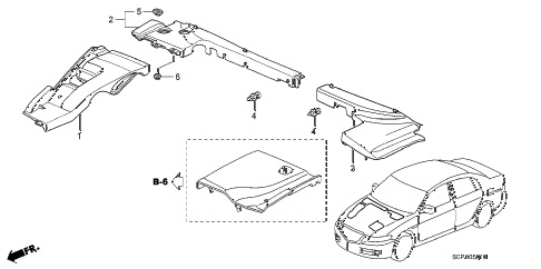 2008 TL TYPE-S 4 DOOR 5AT COVER diagram
