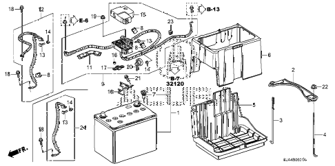2009 RL 4 DOOR 5AT BATTERY (2) diagram
