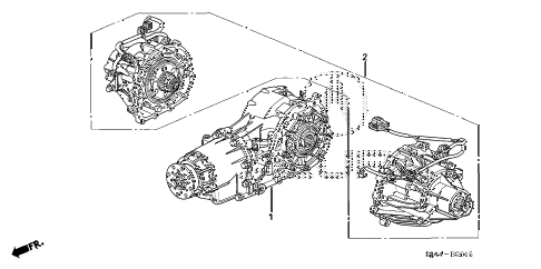 2011 RL 4 DOOR 6AT REAR DIFFERENTIAL (SERVICE) diagram
