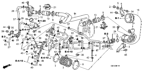 2011 RDX TECH 5 DOOR 5AT AIR BYPASS VALVE diagram