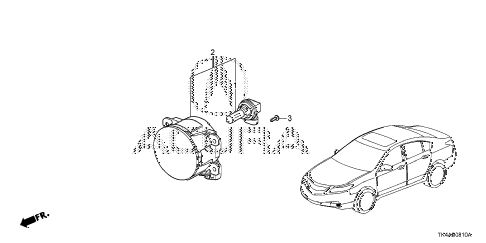 2013 TL ADV(SHAWD) 4 DOOR 6AT FOGLIGHT diagram