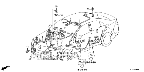 2014 TSX SE 4 DOOR 6MT WIRE HARNESS (3) diagram