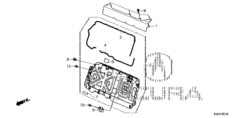 2014 ILX BASE 4 DOOR CVT IMA IPU COVER diagram
