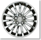 17� 15-SPOKE CHROME-LOOK ALUMINUM ALLOY WHEEL (part number:)