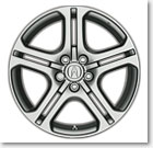 "2006 TL 18""  HIGH PERFORMANCE CHROME-LOOK ALLOY WHEEL"
