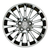 "17"" 15-SPOKE CHROME-LOOK ALUMINUM ALLOY WHEEL (part number:)"