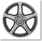"17"" ""SILVER STAR"" ALUMINUM ALLOY WHEELS (part number:)"