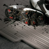 ALL-SEASON FLOOR MATS (BLACK) (part number:)
