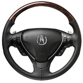 WOOD STEERING WHEEL (part number:)