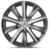 17-IN DIAMOND-CUT ALLOY WHEELS (part number:)